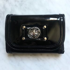 Marc by Marc Jacobs Black Patent Leather Wallet